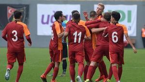 Son Dakika | Galatasaray U19 - Club Brugge U19: 2-1