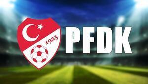 PFDK kararları açıklandı Fenerbahçe...