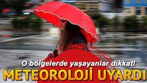 Meteorolojiden çarşamba günü için yağış uyarısı... 27 Kasım il il hava durumu tahminleri