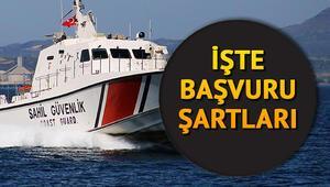 Sahil Güvenlik Komutanlığına devlet memuru alınacak e Devlet memur alımı başvuru ekranı