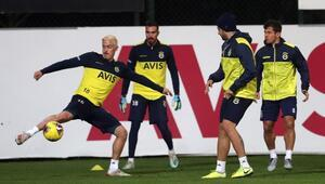 Fenerbahçe, Göztepe hazırlıklarını sürdürüyor