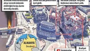 1 milyar Euro'luk soygun böyle gerçekleşti: Vitrinleri baltayla kırdılar