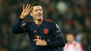 Robert Lewandowski tarih yazdı, Bayern Münih farklı kazandı