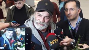 Emmy Ödüllü Haluk Bilginer İstanbulda İşte ilk sözleri...
