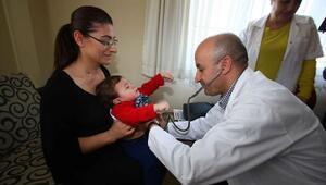 8 ayda 18 bin kişiye ücretsiz sağlık hizmeti