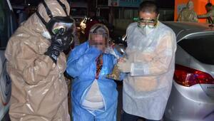 Zarftan çıkan tozda kimyasal bulguya rastlanmadı