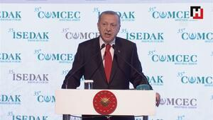 Cumhurbaşkanı Erdoğan'dan İSEDAK toplantısında önemli açıklamalar