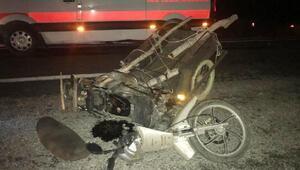 Tavşanlıda trafik kazası: 1 yaralı