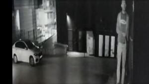 Maltepede 3 kişinin gözaltına alındığı hırsızlık kamerada