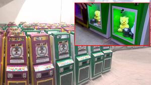 Sakız ve oyuncak otomatı kumar makinesi çıktı