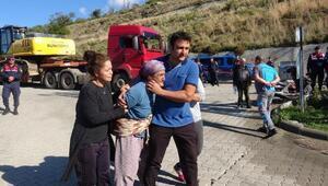 Marmariste yıkım için gelen ekibi görenler ağladı