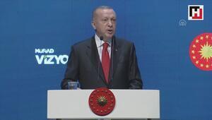 Cumhurbaşkanı Erdoğan: Zırh olarak kullanılabilecek olan bor karbür üretimine başlıyoruz