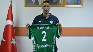 Leonel Marshall Bursa Büyükşehir Belediyesporda