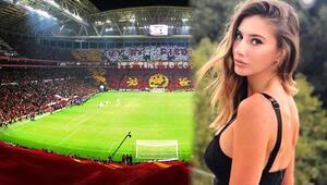 Türk Telekom Stadında Şeyma Subaşı sürprizi