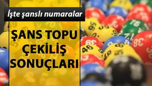 27 Kasım Şans Topu çekiliş sonuçları açıklandı Milli Piyango Şans Topu sorgulama ekranı