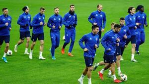 Slovan Bratislava, Beşiktaş maçı hazırlıklarını tamamladı