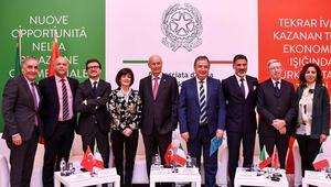 Türk ve İtalyan iş insanları, ticari ilişkilerdeki yeni fırsatları değerlendirdi