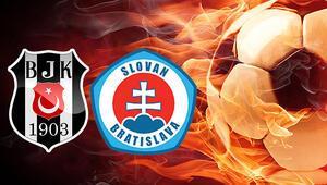 Beşiktaş Slovan Bratislava bu akşam saat kaçta hangi kanalda Tarihte ikinci kez
