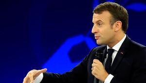 Son dakika... Fransa Cumhurbaşkanı Macrondan skandal sözler
