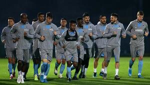 Trabzonspor Getafe maçının hazırlıklarını tamamladı
