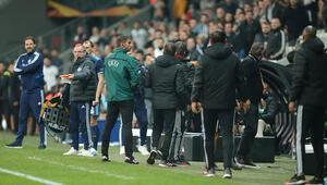 Beşiktaş - Bratislava maçının ardından büyük terbiyesizlik