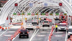 Avrasya'dan 48 milyon araç geçti