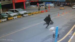 Son dakika haberler: Başakşehirde 250 bin liralık kapkaç kamerada