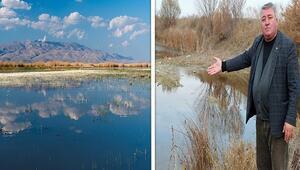 Türkiyenin 12nci tatlı su kaynağı son nefesini veriyorBu suyu içiyorduk, burası kuş cennetiydi