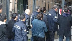 Edirnede 7 FETÖ şüphelisi Yunanistana kaçarken yakalandı