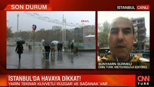 İstanbuldaki hava durumuyla ilgili son dakika bilgisi... Bünyamin Sürmeli yorumladı
