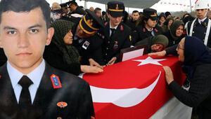 Şehit Furkan Yılmazı binler uğurladı