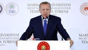 Cumhurbaşkanı Erdoğandan Macrona sert tepki