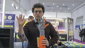 Yapay zekayla çalışan protez kol üretti