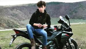 İki motosiklet çarpıştı, Enes öldü