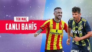 Fenerbahçe, İzmirde Göztepeye konuk oluyor iddaada öne çıkan...
