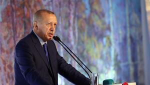 Cumhurbaşkanı Erdoğan, Selahattin Kara Resim Sergisinin açılışına katıldı