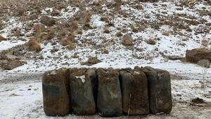 Vanda PKKya ağır darbe 2 ton ele geçirildi