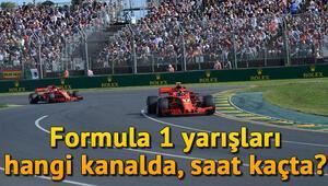 Formula 1 yarışları hangi kanalda canlı yayınlanacak Formula 1 ne zaman