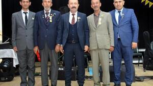 Altınözünde Kıbrıs gazilerine madalya