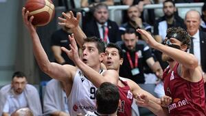 Çekişmeli maçta kazanan Beşiktaş Sompo Sigorta