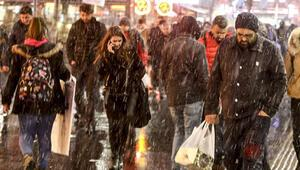 Meteorolojiden son dakika uyarısı: Yağmur ve kar...