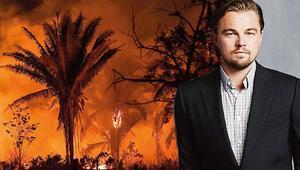 Tuhaf suçlama: Amazonları DiCaprio yakıyor