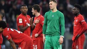 Bayern Münihe Leverkusen darbesi