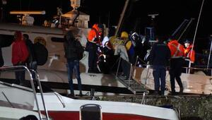 Çanakkalede 99 kaçak göçmen yakalandı