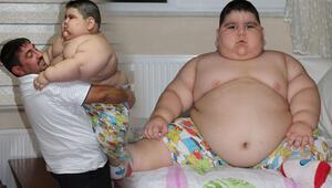 4 yaşında70 kiloya ulaşan Yağız, yardım bekliyor