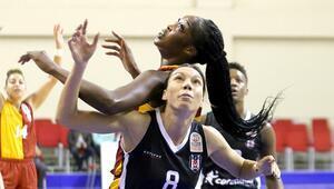 Kadınlar Basketbol derbisinde Galatasaray, Beşiktaşı farklı geçti