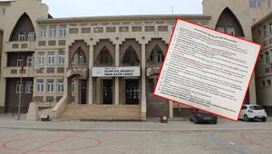 'Okul müdüründen aday öğretmenlere talimat' iddiası... İnceleme başlatıldı