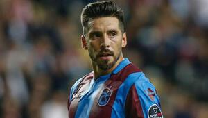Trabzonsporda Jose Sosa cezalı duruma düştü
