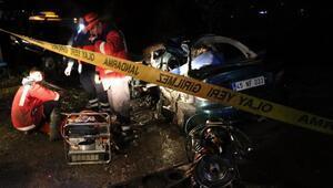 Korkunç kaza Evli çiften acı haber geldi