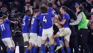Leicester City 90+4de güldü
